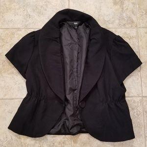 Mossimo Good Condition Black Short Jacket Blazer